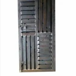 Standard Silver Pipe Section Door, For Residental, Size/Dimension: 6-7 Feet