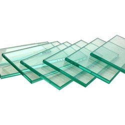 Transparent Plain Clear Float Glass, Glass Thickness: 4-12mm, Size: 3-5 Feet