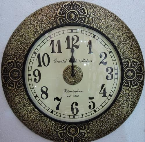Antique Br Ed Wall Clocks