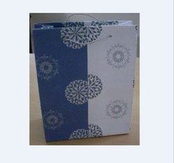 Printed handmade paper bag