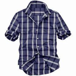 Mens Full Sleeves Linen Casual Shirt