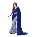 Ladies Cotton Plain Saree, Length: 6.3 M
