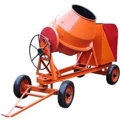 Tilting Drum Mixer Kirloskar Concrete Mixer Machine, Output Capacity: 560 Liters