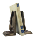 Steampunk Propeller Bookends