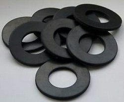 Track Link Rubber Washer
