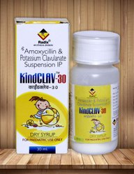 Amoxycillin 200 Mg,Clavulanic Acid 28.5 Mg Per 5 Ml