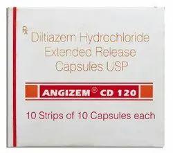 Angizem CD 120 (Diltiazem)