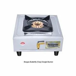Biogas Stove Single Burner Butterfly