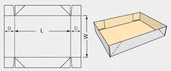 4 6 Corner Tray Lid Top Bottom