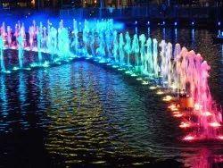 Multicolor Light Fountain
