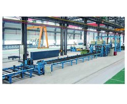 PTW Horizontal H Beam Welding Production Line