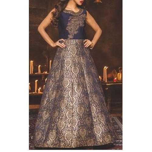 Designer Party Wear Gown at Rs 4900 /piece | Ladies Gown | ID ...