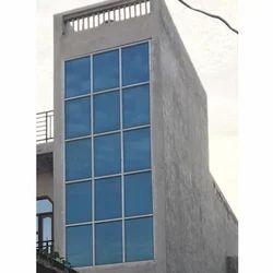 Blue Aluminium Window
