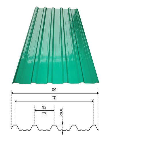 Varydek 740 Roofing Sheet Tata Bluescope Steel