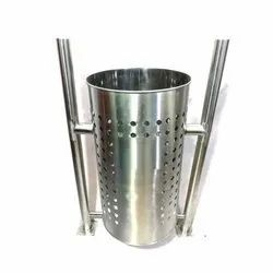 Stainless Steel Pole Dustbins