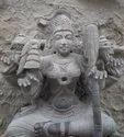 Divine Black Stone Temple Idols