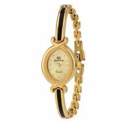 Gold Dial Womens Watch