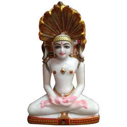 Marble Parshwanath Statue