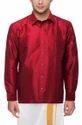 Plain Mens Silk Shirt