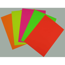 Fluorescent Chromo Art Paper