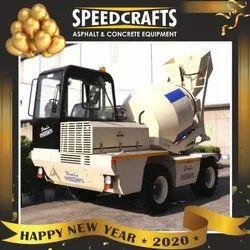 Speedcrafts Self Loading Concrete Mixer