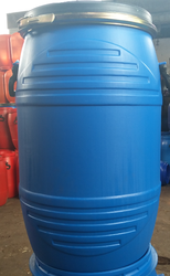 Round 65 Ltrs Hm HDPE Open Top Drum. Fot, For Chemical Storage