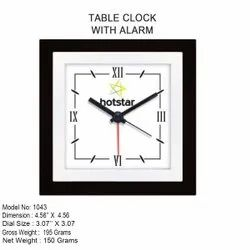 Decorative Table Clock With Alarm