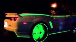 Night Glow Film For Automobiles