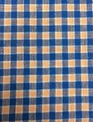 Check Linen Fabric, Width: 58 Inch