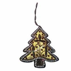 Zari Embroidery X-Mas Decoration