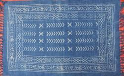 Indigo Block Printed Rugs