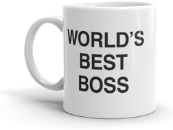 Printed Coffee Mugs for wishing Boss
