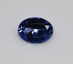 IGI Certified Natural Tanzanite 1.16 ct.