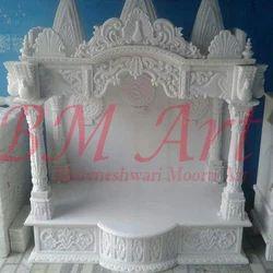 Handmade White Marble Temple