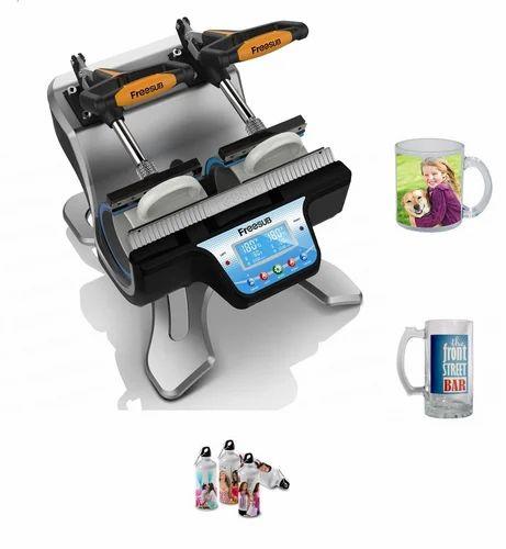 Dual Mug Heat Press Machine - ST210