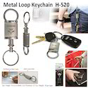 Metal Loop Keychain H-520