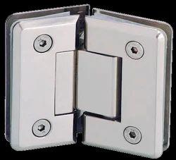 Zolon ZSH-55 Wall To Glass Hinge 90 Degree Fix Bracket, Matt, Thickness: 2.1 - 2.5 mm