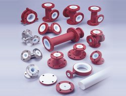 PTFE Lined Pipes Fittings