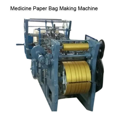 Automatic Medicine Paper Bag Making Machine