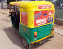 Outdoor Auto Rickshaw Advertising Services, Mode Of Advertising: Offline