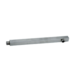 Stainless Steel Square Shower Arm, Dimension/Size: 9 Inch