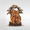 Bronze Mantra Radha Krishna With Tree