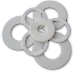 Flange And Glass Silicone Gasket
