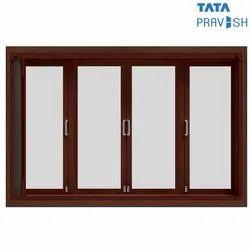 Dual Slide And Swing Forest Brown (RAL 8017) Tata Pravesh Vista Steel Window