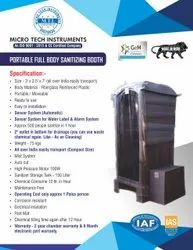 Portable Full Body Sanitizing Booth