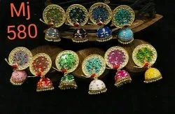 Meenakari Earring casual wear