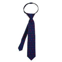 School Zipper Tie