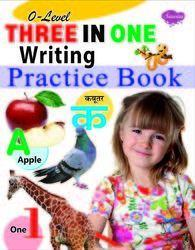 0 Level Three In One Writing Practice Book