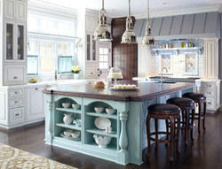 Residential Island Kitchen