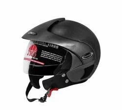 Wonder With Peak Grey Glossy Helmet
